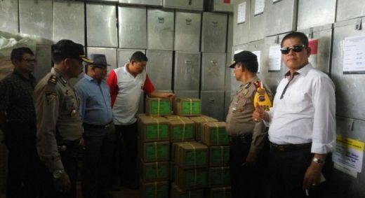 45 Koli Surat Suara Sampai di Payakumbuh dengan pengamanan ketat Kepolisian