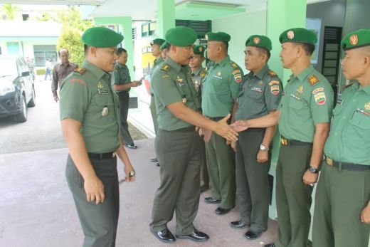 Tinjau Pelaksanaan Program Kerja, Irdam I/Bukit Barisan Kunjungi Kodim 0311/Pesisir Selatan