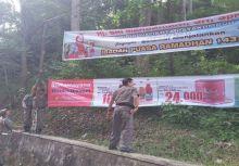Spanduk Balon Walikota Dipasang di Pohon Dicopot Satpol PP