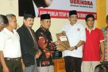 Fitrial Bachri Kembalikan Formulir ke Partai Gerindra