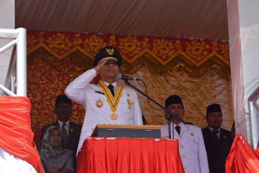 Upacara Bendera Memperingati 71 Tahun HUT RI di Kota Serambi Mekah berlangsung Khidmat