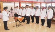Pengurus PMI Kota Padang Periode 2016-2021 Dikukuhkan