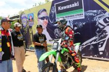 Kejurnas Grasstrack Region Sumatera di Dharmasraya, Remaja Bisa Salurkan Bakat