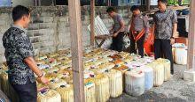 Mau Diseludupkan ke Jambi, Puluhan Jerigen Solar Subsidi Ditangkap Polres Dharmasraya