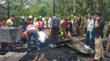 Tragis... Terjebak dalam Rumah yang Terbakar, 3 Balita Tewas di Solok