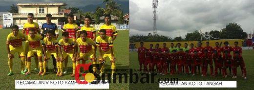Ayo! Minggu Sore Ini Final Irman Gusman Cup, Koto Tangah Kontra Kampung Dalam Bakal Seru dan Menegangkan
