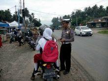 Tujuh Hari Dilaksanakan, Ratusan Pengendara Terjaring dalam Operasi Patuh yang Dilaksanakan di Wilayah Hukum Polres Dharmasraya