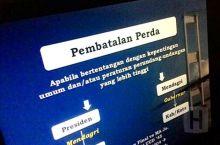 Hanya Dua Perda Dibatalkan Kemendagri Untuk Kota Padang, Salah Satu Soal Izin Gangguan