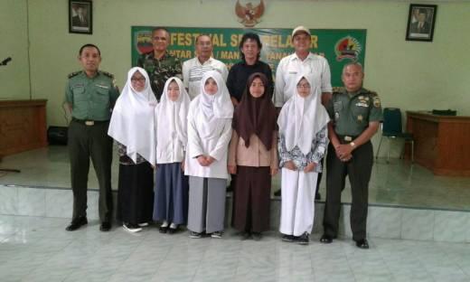 Sambut HUT TNI, Kodim 0307/Tanah Datar Gelar Festival Budaya dan Seni