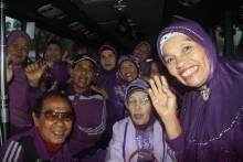 Program Pengelolaan Penyakit Kronis, 80 Lansia Padang Panjang Ikut Wisata Dakwah