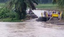 Banjir di Agam, Puluhan Rumah Terendam dan Akses Jalan Putus