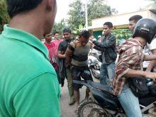 Brutal! Seorang Suami Aniaya Istri Nyaris Tewas di Dharmasraya