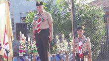 Pramuka Sumbar Lakukan Gita Pralang 2016 di SMKN 25 Padang