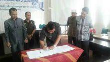 Berantas Korupsi, Pemerintah Kabupaten Dharmasraya Lakukan Kerjasama dengan Kejaksaan Negeri Pulau Punjung