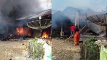 Dua Unit Rumah Permanen di Dharmasraya Terbakar, Kerugian Ditaksir Ratusan Juta