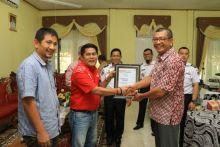 Payakumbuh Terima Penghargaan ISCN dari PT. Telkom