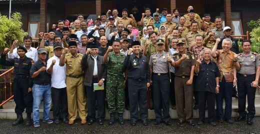 Kota Padang Panjang Menjunjung Tinggi Kebinekaan, Kaum Minoritas Pun Merasa Aman