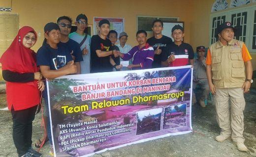 Tim Relawan Dharmasraya Bantu Korban Banjir Bandang di Agam