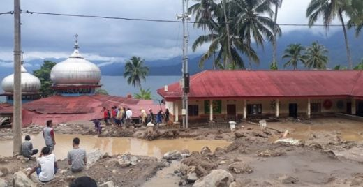 Banjir Bandang dan Longsor Terjadi di Tiga Lokasi di Agam