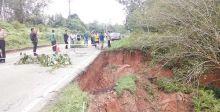 Waspada... Setelah Km 83, Kini Giliran Km 91 Jalan Riau-Sumbar Terancam Amblas