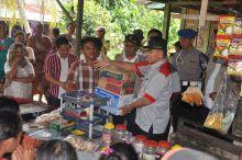 BNK Kota Padang Bantu Korban Banjir Aia Pacah