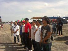 Perebutkan Piala Menpora RI dan Hadiah Citilink Kejurnas Drag Race Putaran II di Padang Dibuka Gubernur Sumbar
