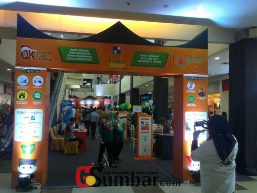 Empat Hari Expo iB Vaganza di Padang, Perbankan Syariah Berhasil Himpun Dana 14 Miliar Lebih