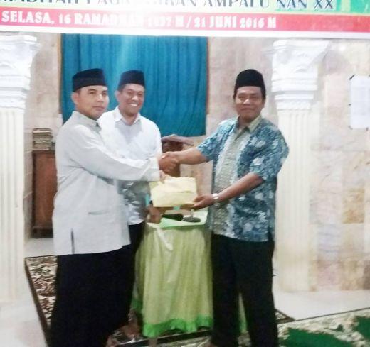 Dandim Pimpin Tim Safari Ramadan Pemko Padang Kunjungi Masjid Jabal Nur Pengambiran