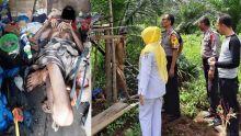 Diduga Sakit, Seorang Pria Ditemukan Tewas di Pondok Kebun Sawit di Dharmasraya