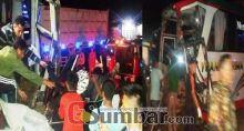 Kecelakaan, Dua Orang Tewas di Jalan Lintas Sumatera Dharmasraya