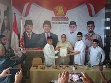 Sah, Erman Safar Pimpin DPC Partai Gerindra Bukittinggi