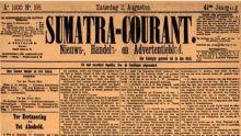 Melawan Lupa, Tahukah Anda, Sumatra Courant, Surat Kabar Pertama di Padang