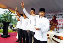 Dilantik Maret 2016, Muzni-Rahman Sudah Ditetapkan DPRD Sebagai Bupati-Wabup Solok Selatan Tepilih
