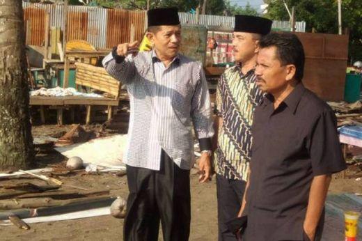 Percantik Kawasan Muaro Padang, 53 Kios PKL Dibongkar Sendiri Pemiliknya