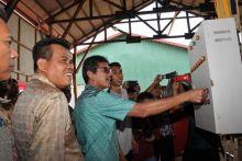 Gubernur Sumbar Resmikan Pabrik Pupuk Pertama di Sumbar