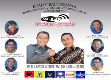 W-Fi Koalisi Badunsanak,5 Partai Pengusung , 1 Pendukung