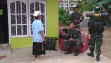 Lakukan TMMD, 150 Prajurit TNI Makan dan Tidur Berbaur di Rumah Warga