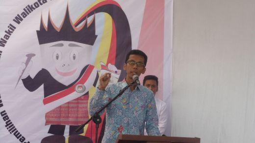 Amnasmen, SH ketua KPU Propinsi Sumatera Barat sampaikan atas kinerja KPU Payakumbuh