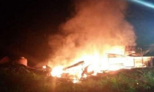 Penghuni Sedang Tidur, Rumah Hangus Terbakar di Palembayan Agam