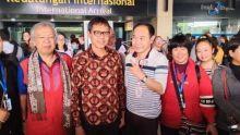 Dunia Sorot Virus Corona, Sumbar Justru Sambut 155 Turis China dengan Tari Pasambahan dan Talempong
