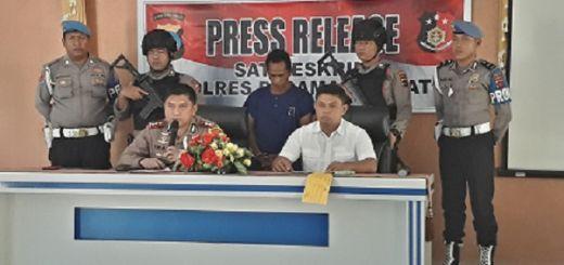 Setelah 2 Tahun Buron, Pelaku Pembunuhan Berhasil Ditangkap Aparat Polres Pasaman Barat