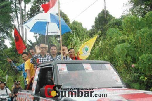 Senin Ini Dua Pasangan Calon Cek Kesehatan di Padang, Yudas Optimis Bisa Lanjutkan Pembangunan di Mentawai