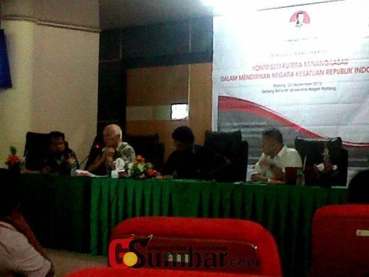 Dialog Kebangsaan di Padang, Sejarawan Mestika Zed: Tan Malaka Pencetus Nasionalise Pertama
