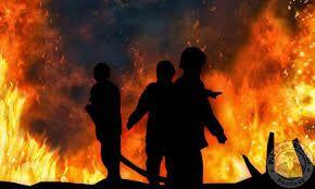 Kamis Dini Hari, Sebuah Rumah Permanen di Tilatang Kamang Agam Ini Ludes Terbakar
