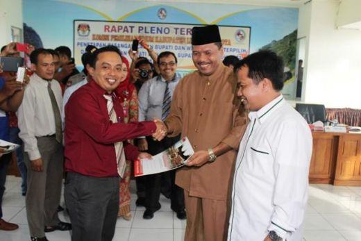 KPU Tetapkan Bupati dan Wakil Bupati Limapuluh Kota Terpilih