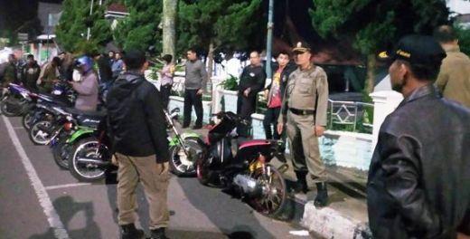Razia Balap Liar, Satpol PP Payakumbuh Amankan 50 Kendaraan Bermotor