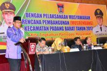 Jadi Etalase Pembangunan di Kota Padang, Sekdako: Padang Barat Harus Bebas Banjir