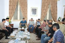 Bertemu dengan Tim Survey PWI, Gubernur: Sumatera Barat Siap Jadi Tuan Rumah HPN 2017