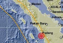 Sesar Sumatera di Sumbar Bergejolak, Usai Gempa Dua Kali di Bukittinggi, Gempa Darat Sore Ini Goyang Kota Solok dan Sekitarnya