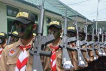 Bawa Senjata Laras Panjang, Siswa SLTA se-Sumatera Barat Berkumpul di Korem 032/Wirabraja, Ada Apa Ya?